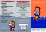 Parents & Carers Safeguarding Leaflet NYSport