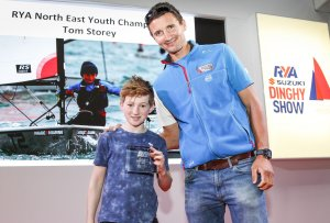 Knaresborough Young Sailor Presented with Championship Award