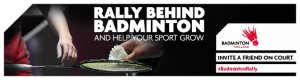 Rally Behind Badminton Campaign Launch