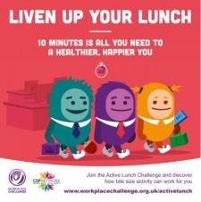Small Steps to Success - Active Lunch Challenge 2017