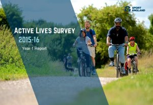 Sport England publish Active Lives Research