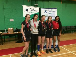 School Games Badminton title claimed