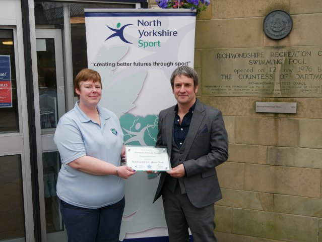 North Yorkshire Sport Richmond Swimming Pool Officially 39 Dementia Friendly 39