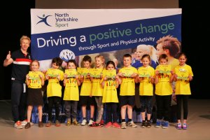 Change 4 Life Clubs celebrate with Olympian Craig Heap