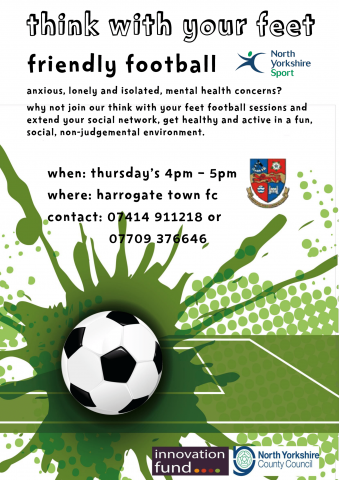 Think with your Feet - Mental Health Football Programme