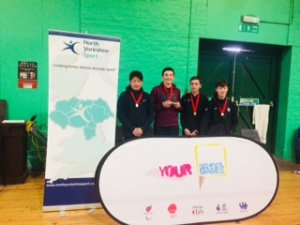 North Yorkshire School Games Badminton Winners Crowned