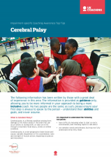 Impairment Factsheet Cerebral Palsy