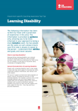 Impairment Factsheet Learning Disability