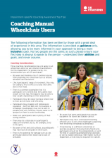 Impairment Factsheet Manual Wheelchair Users