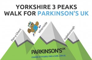 Sign up for the Bud's Run Yorkshire 3 Peaks Challenge and support local residents to raise £ for Parkinson's UK