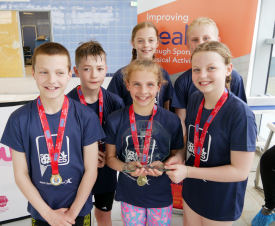 School Games Inclusive Swimming Event