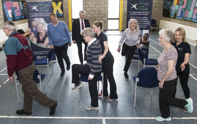 North Yorkshire County Council and North Yorkshire Sport launch 'Strong and Steady'