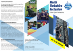 North Yorkshire Inclusive School Sports Partnership