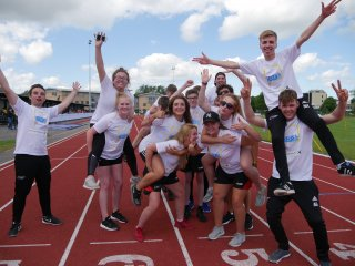Volunteering at the School Games