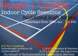 Stage 1 Cycles - Indoor Cycle Sessions