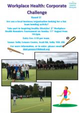 Calling all Selby Businesses....Inspiring Healthy Lifestyles - Corporate Rounders Tournament