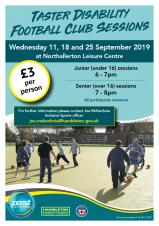 Disability Football Sessions - Hambleton