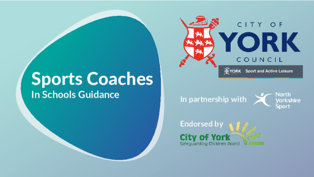 City of York Sports Coaches in Schools Guidence Jan 2020