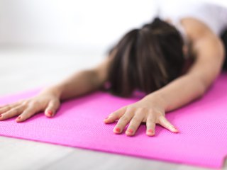 Yoga poses to calm anxety