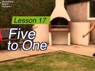 Lesson 17 - Five-To-One