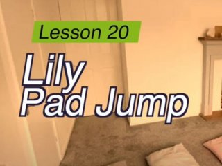 Lesson 20 - Lily pad jump