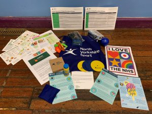 Support packs being distributed to help improve physical and mental health
