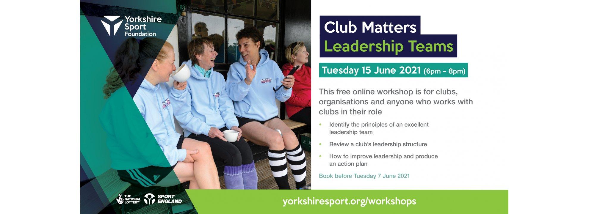 Club Matters - Leadership Teams Banner