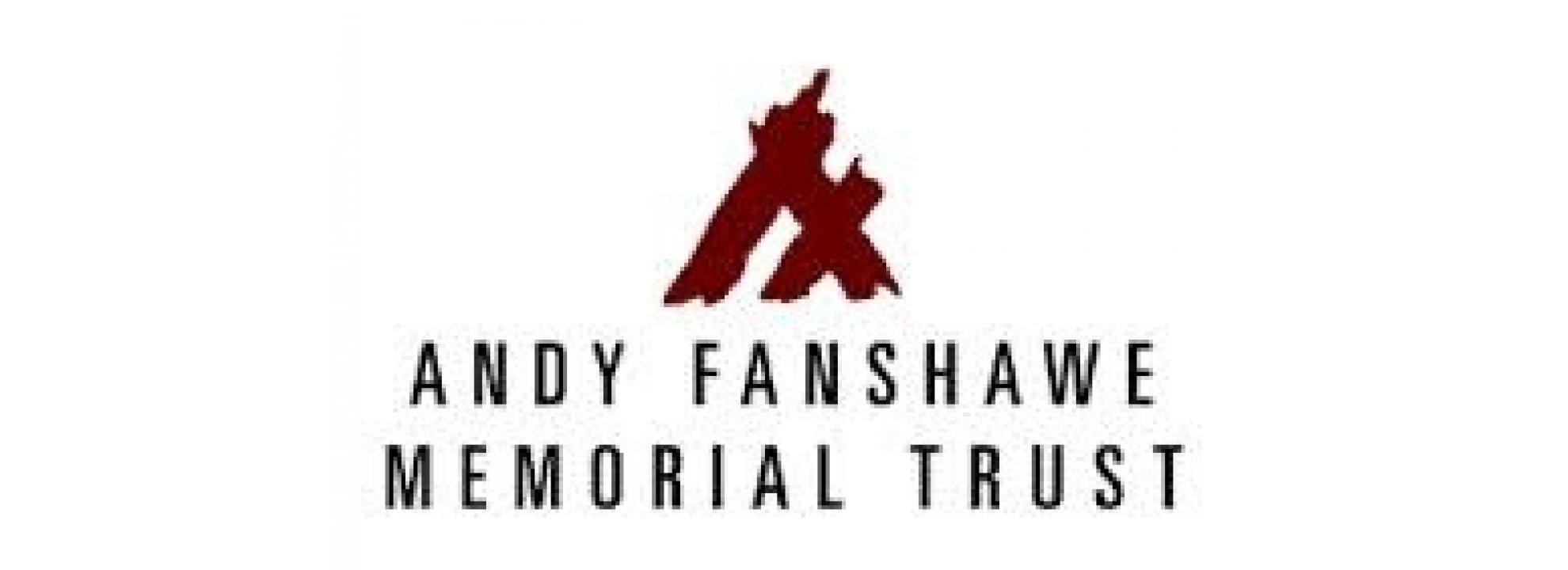 Andy Fanshawe Memorial Trust Banner