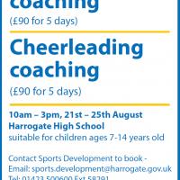 Athletics and Cheerleading Camp (Harrogate Borough Council)