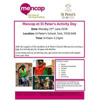 St Peter's Activity Day
