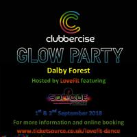 Clubbercise Glow Party In Dalby Forest