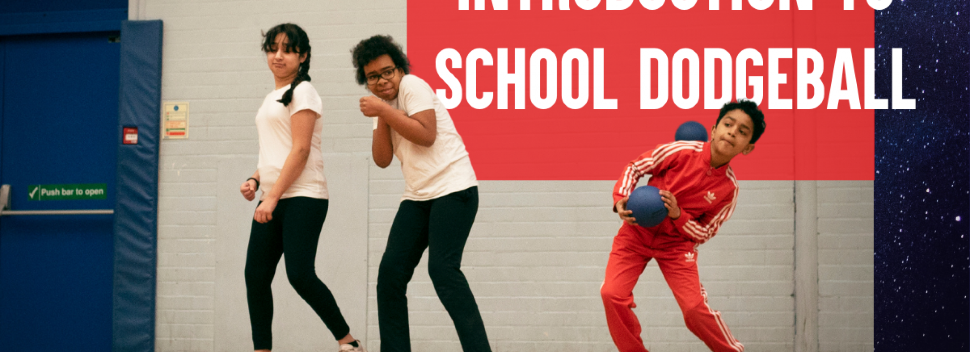 Introduction to School Dodgeball Online Course Banner